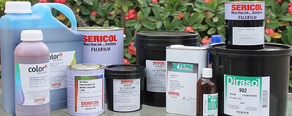 Краски которые мы используем при печати.