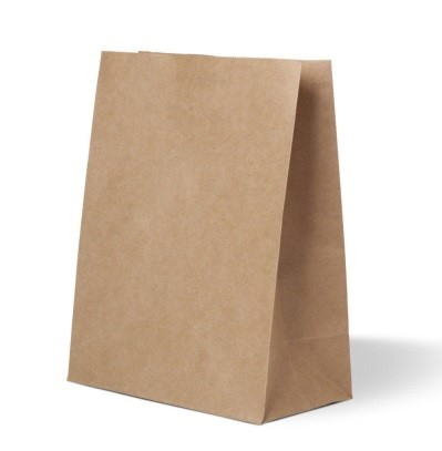 пакет с прямоугольным дном