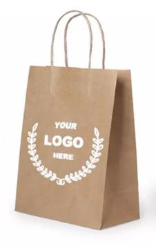 Фирменные бумажные пакеты
