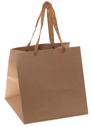 Квадратные бумажные пакеты