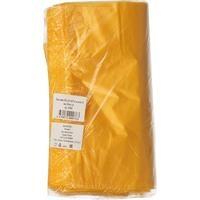 Пакет-майка ПНД желтый 18 мкм (30+14x57 см, 100 штук в упаковке)
