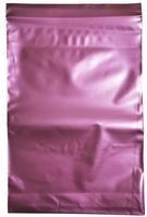 Пакет с замком Zip-Lock 15х22 см 60 мкм (вишневый, 100 штук в упаковке)