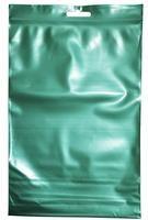 Пакет с замком Zip-Lock с европодвесом 15х22 см 60 мкм (зеленый, 100 штук в упаковке)