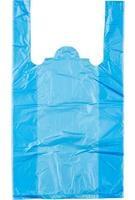 Пакет-майка Знак Качества ПНД цветной 10 мкм (25+12x45 см, 100 штук в упаковке)