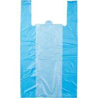 Пакет-майка Знак Качества ПНД цветной 25 мкм оптом (38+20×68 см, 100 штук в упаковке)