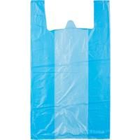 Пакет-майка ПНД цветной 15 мкм (38+20x68 см, 100 штук в упаковке)