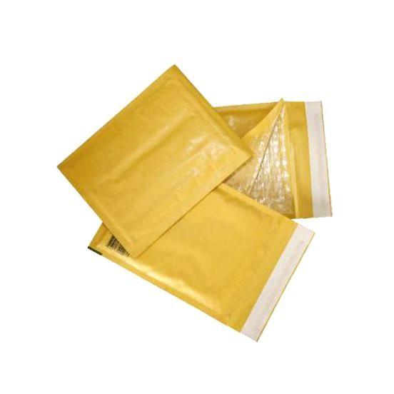 Крафт пакеты с воздушной подушкой с логотипом